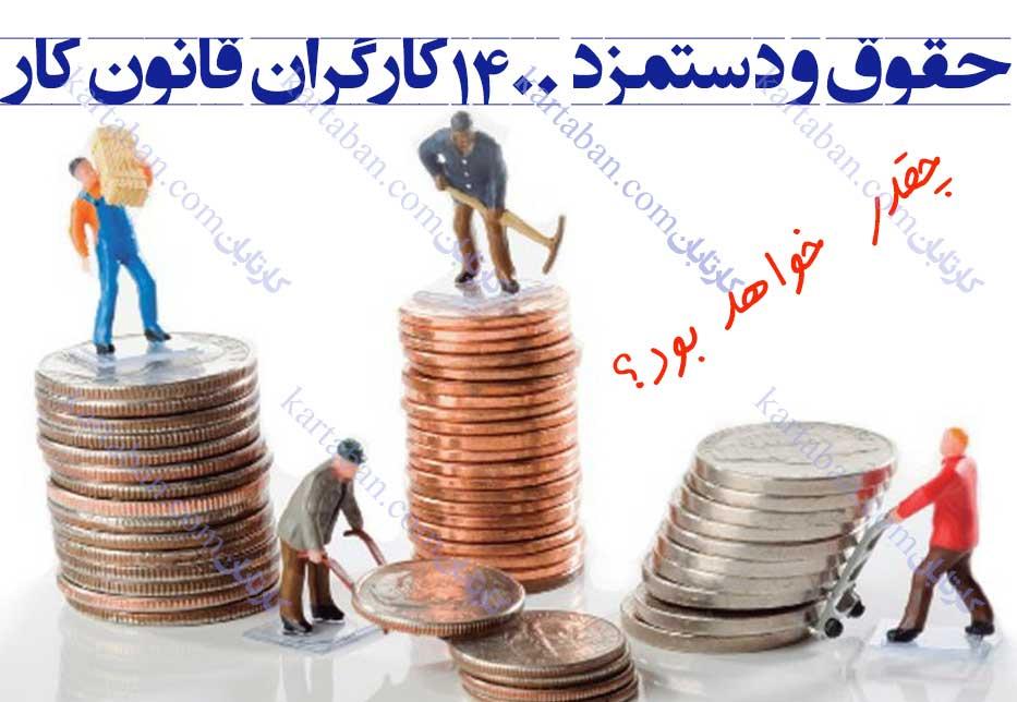 حقوق و دستمزد 1400 قانون کار